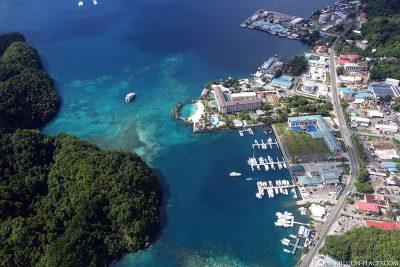 Unser Rundflug über Palau