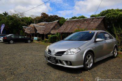 Unser Mietwagen in Palau