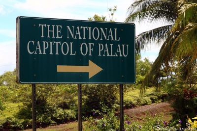 Das National Capitol in Palau