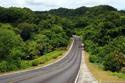 Die Rundstraße in Palau
