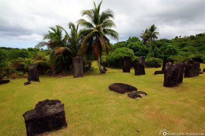 Die Steinmonolithen in Palau