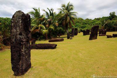 Die Stein-Monolithen in Palau