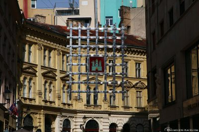 The coat of arms of Bratislava