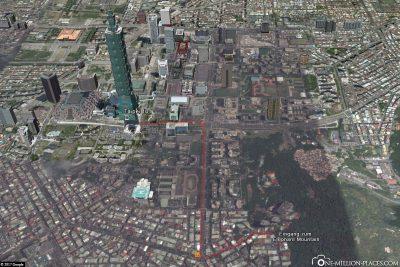Der Weg vom Taipei 101 zum Elephant Mountain