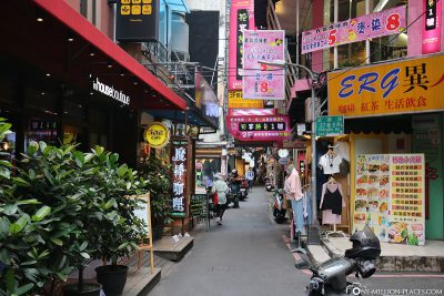 The Ximending district
