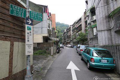 Der Weg zum Elephant Mountain
