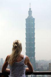 Blick auf den Taipei 101