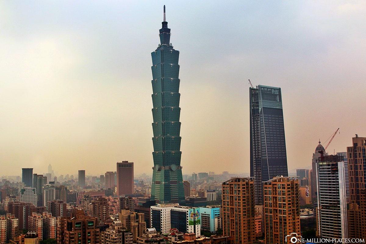 Taipei 101, Taiwan, Auf eigene Faust, Reisebericht