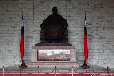 Statue von Chiang-Kai-shek