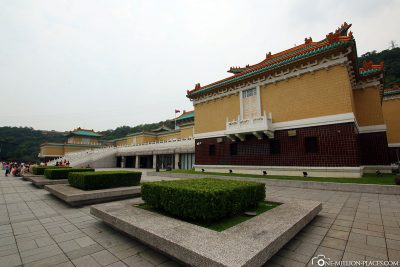Das Nationale Palastmuseum in Taipeh