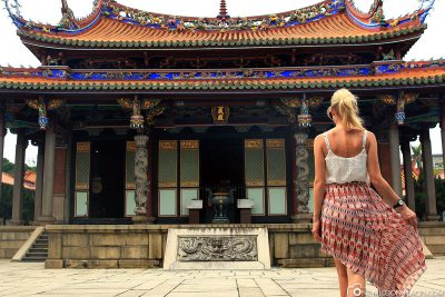 The Temple of Confucius in Taipei