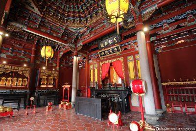 The Dalongdong Baoan Temple
