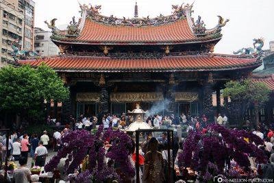 The Longshan Temple in Taipei