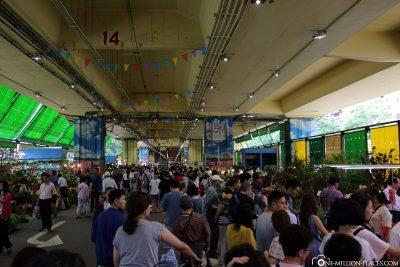 The Jianguo Holiday Flower Market