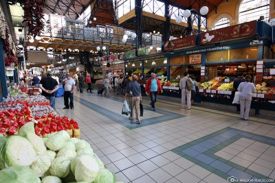 The Market Hall in Budapest