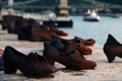 Shoes on the banks of the Danube (Memorial)