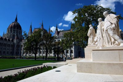 Kossuth Square in Budapest