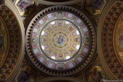 View into the dome