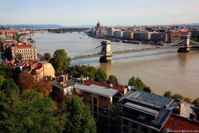 View of the Danube from the Castle Palace
