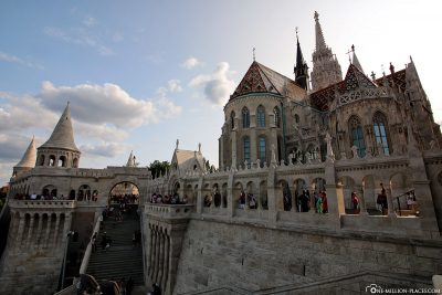 The Fisherman's Bastion with the Matthias Church