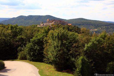 View of Visegrid Castle