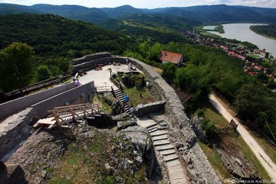 Visegrid Castle and the Danube