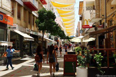 Ledra Street in Nicosia
