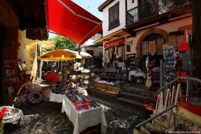 Die Einkaufsgassen in Nikosia