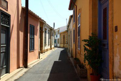 Die bunten Gassen in Nikosia