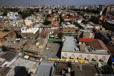 View from Shacolas Tower over Nicosia