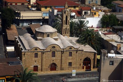 Die Kirche des Erzengel Michael Trypiotis