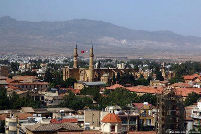 Blick auf die Selimiye-Moschee