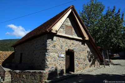 The Church of Archangelos Mikhail (Pedoulas)