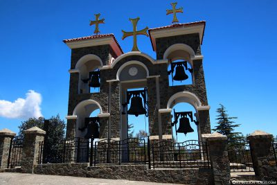 The bell tower of Kykkos Monastery