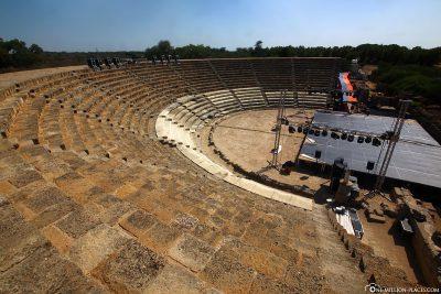 Die Ausgrabungsstätte Salamis