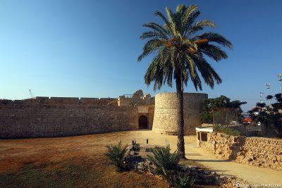 Die Festungsmauer von Famagusta