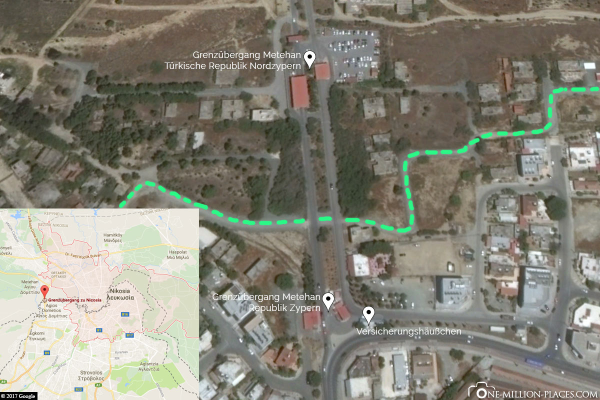 Border crossing Metehan - Agios Dometios, Cyprus, Things to know, travel report