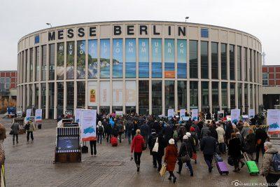 Der Eingang Süd zur ITB Berlin