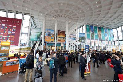 The foyer of the fair