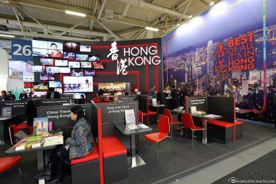 ITB Berlin - Travel country Hong Kong