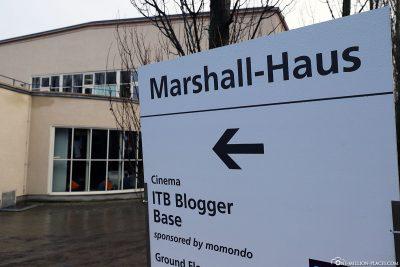 ITB Blogger Base im Marshall-Haus