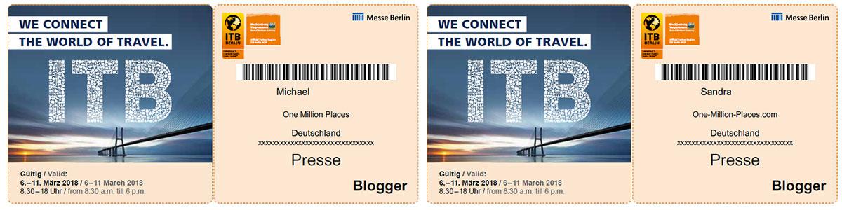 Accreditation, Blogger, ITB Berlin 2018, Confirmation