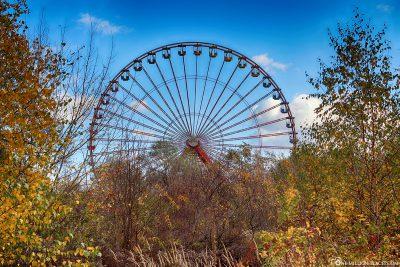 Das Riesenrad im Spreepark Berlin