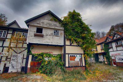 Fachwerkhäuser im Merry Old England
