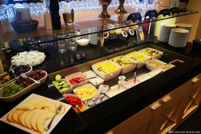 Breakfast buffet at Hotel Heinz