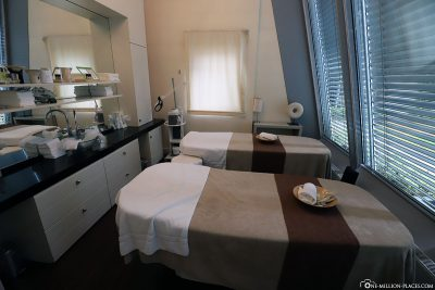 Beauty treatment rooms