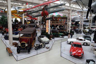 The Liller Halle in the Technik Museum