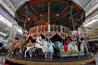 An old carousel