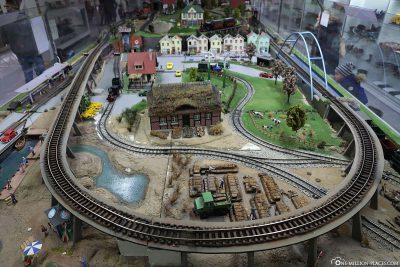A large model railway