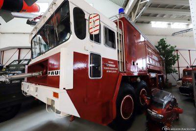 Fire truck in the Technik Museum